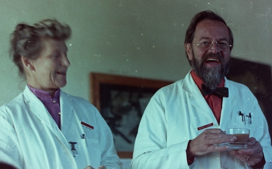 Dr Maggie and Dr Anthony Barker, Charles Johnson Memorial Hospital, Nqutu, Zululand 1965