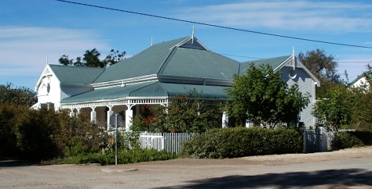 Victorian house in Aberdeen, Karroo