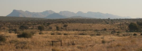 Auas mountains, east of Windhoek