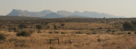 Auas mountains, east of Windhoek