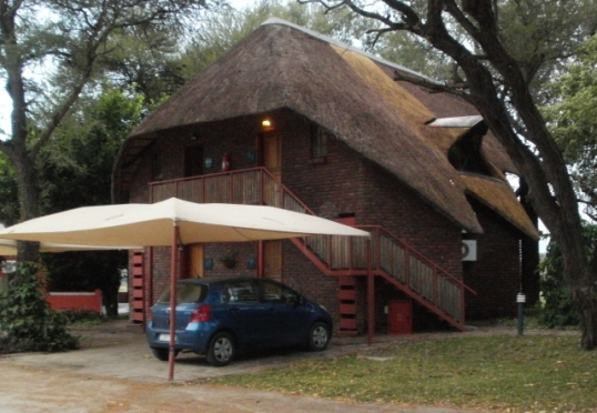 Our chalet at Kaisosi River Lodge, Rundu