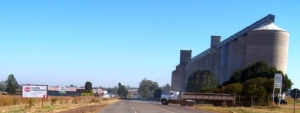 Grain elevators in Koster, North-West Province, where grain is fouind
