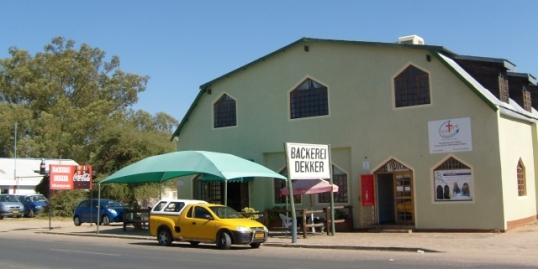 Bakerei Dekker in Okahandja, where we had lunch