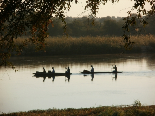 Okavango River at Rundu