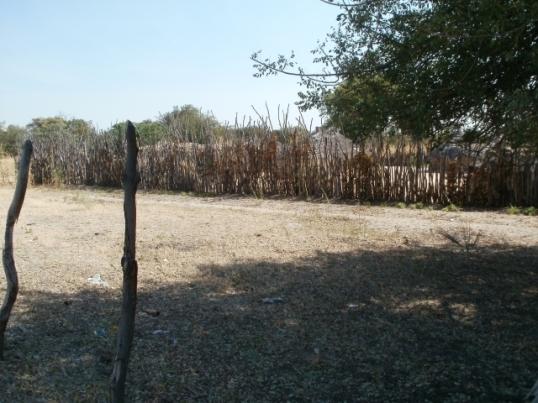 Ovamboland rural homestead