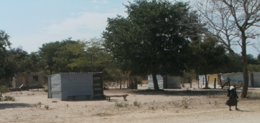 Modern Ovambo village