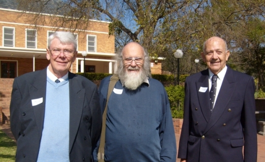Biully Glass, Steve Hayes and Chris Aitken -- 60 years later