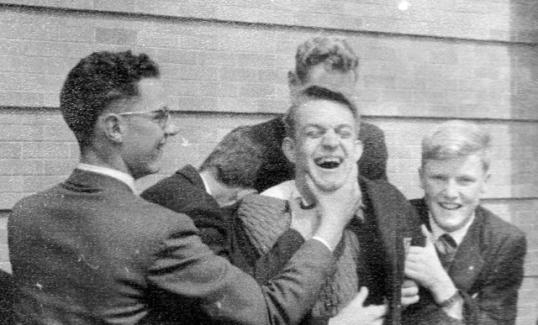 Iain Thornton, John Bolton, Owen Walton: St Stithians, 1958