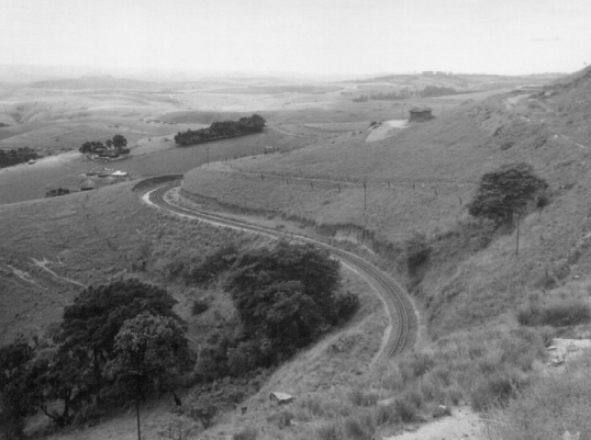 The Donnybrook-Umzinto line somewhere between Hlutankungu and Jolivet, May 1964