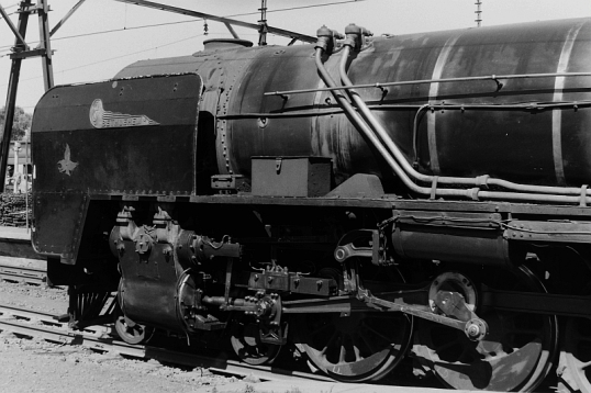 Henschel Class 25 NC detail