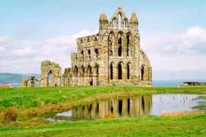 Ruins of an English monastery