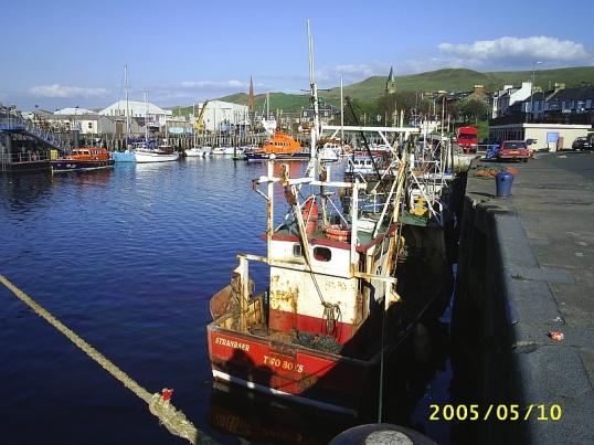 Girvan harbour, Ayrshire, Scotland