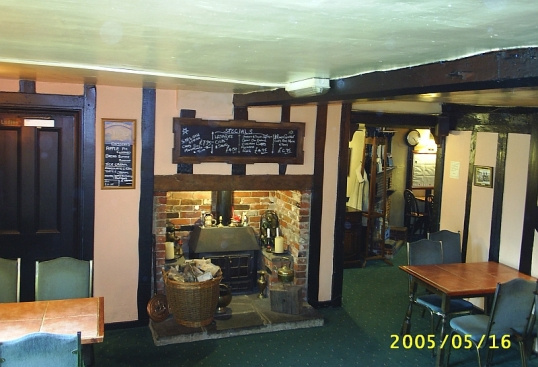 Dining room at Ye Olde Swan, Brightlingsea, Essex