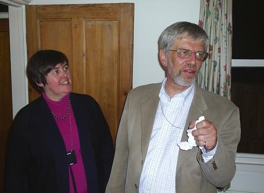 Helen & Frank Cranmer. Twickenham, 16 May 2005