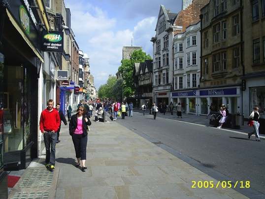 Cornmarket, Oxford