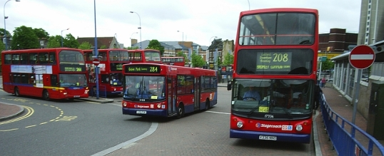 Leisham bus station.