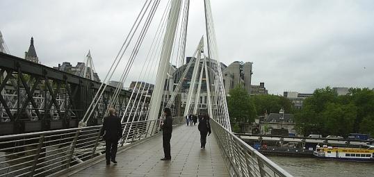 Hungerford footbridge