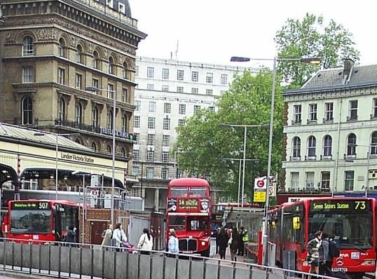 Near Victoria Station