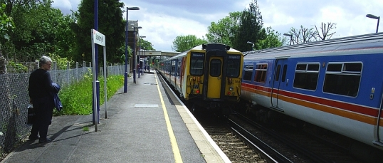 Strawberry Hill station
