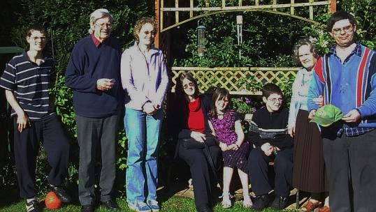 Davies family at Gobowen, 8 May 2005