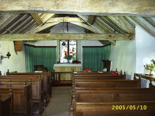 St Olaf's Church at Wasdale Head -- said to be the smallest church in England 10 May 2005