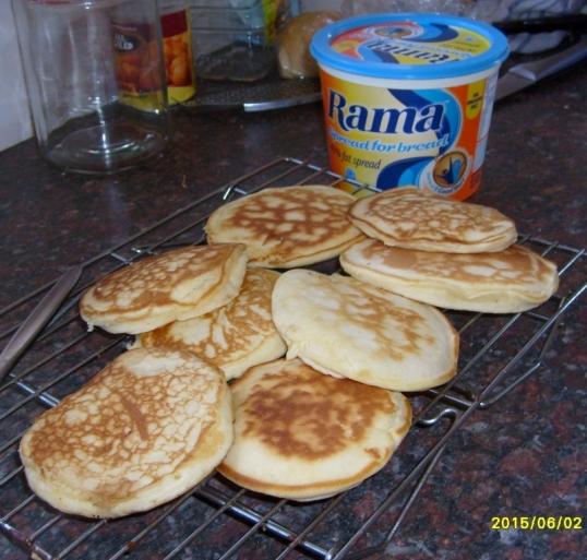 Crumpets or pancakes