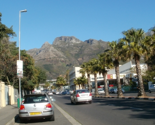 Devil's Peak, from outside the Cape Archives depot.