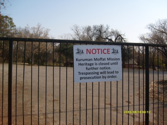 ZA missiological pilgrimage to the historic Moffat Mission in Kuruman