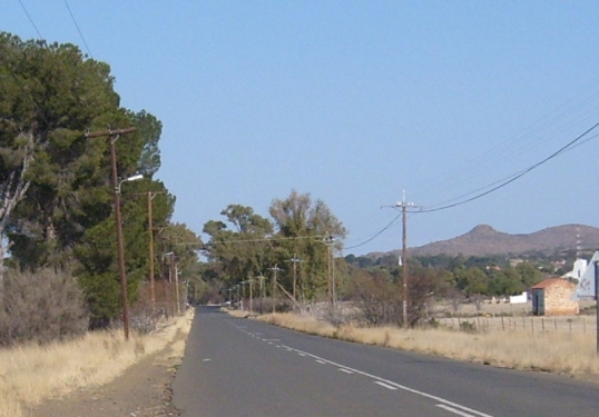 Entrance to Bethulie in the Free State