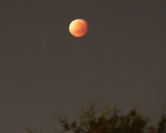 Lunar eclipse 28 Sep 2015, about 4:45 am