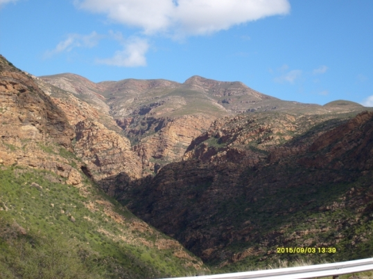 Huisrivier Pass, between Ladismith and Calitzdorp