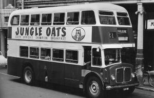 AEC Mark V bus belonging to Johannesburg Transport Department, Summer 1965/66
