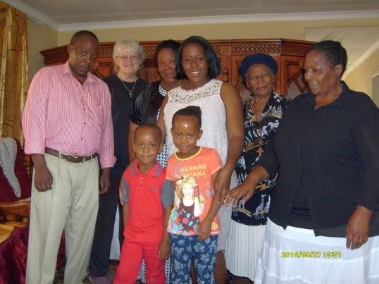 The Malahlela family and visitors, Mamelodi /east, Sunday 27 March 2016