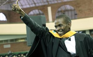 Notokozo Qwabe, student at Oxford University