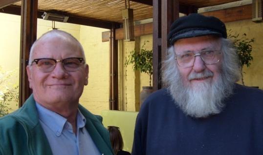 Allan Anderson & Steve Hayes, 21 July 2016