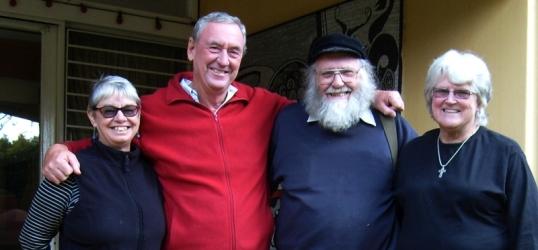 Pat & Barry Schmidt, Steve & Val Hayes