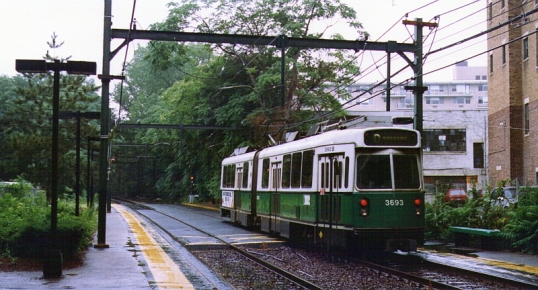 The Boston T -- August 1995