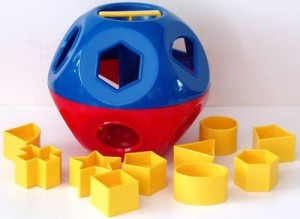Shape sorting toy
